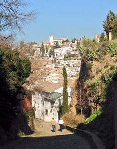 Rincones de Andalucía: calles de Granada / Places in Andalucía: streets of Granada, by @fescobargv