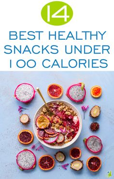 Having trouble cutting back calories? Skipping snacks then finding yourself feeling low and craving less healthy options? Pick from these 100 calorie healthy snacks nutritionists love to reach your weight loss goals!