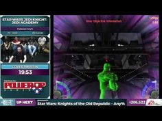 A short 'recap' of an amazing Jedi Academy speedrun (at SGDQ2016)