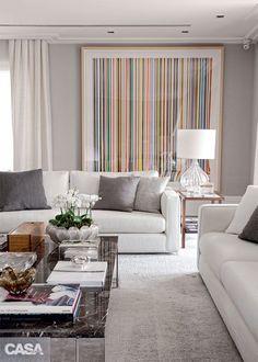 Blog de decoração Perfeita Ordem: Brancos, beges, cinzas... Cores que acalmam