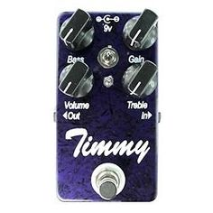 Timmy Overdrive Pedal | eBay