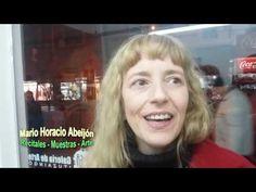 DANA FERNÁNDEZ en la muestra de ELIDA TKACZ