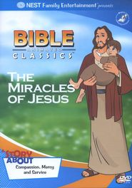 Animated Bible Classics: The Miracles of Jesus, DVD   - $10.99