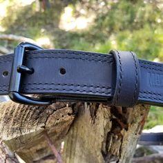 MURDERED OUT! 😎 🇺🇸 Mottsleatherdesigns.com #doyouevenmotts #mottsleatherdesigns #murderedout #blackonblack #gunbelt #exoticleather #waterbuffalo #matteblack #tactical #dutybelt #edc #belt