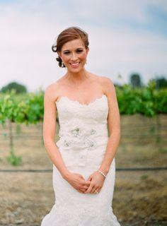 Enzoani wedding gown.