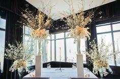 Spectacular Floral Designs for a Magical New York Wedding at the Mandarin Oriental - MODwedding