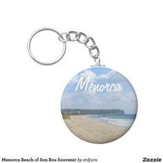 Menorca Beach of Son Bou Souvenir Basic Round Button Keychain Hawaii Ocean, Oahu Hawaii, Menorca Beaches, Round Button, Custom Buttons, Ocean Waves, Frost, Create Your Own, Cool Designs