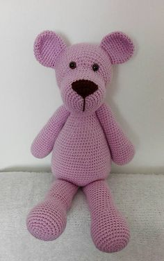 A-M_Made.With.Love / Plyšový medveď 50 cm