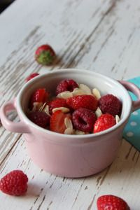 Raspberry, Strawberry, Fruit Salad, Lyonnaise, Cake, Sweet, Food, Red Berries, Sugar