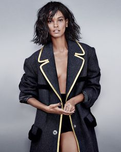 Liya Kebede by Tiziano Magni for Marie Claire France October 2014