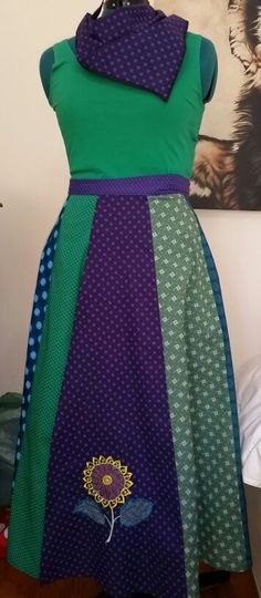 African chic/ethnic/ bohemian wrap skirts is various colours…