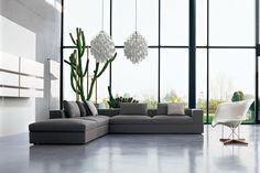 muebles y diseño italiano en la decoracion de interiores del hogar living room