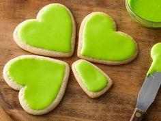 Scrumptious & cute! Shamrock Pull-Apart Cookies