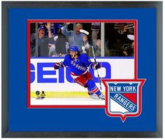 Carl Hagelin Rangers Scores Goal Game 4 2014 Eastern Conference Finals