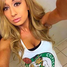 Pretty Boston Celtics Babes - Sexy Team Fans