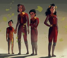 The Airbender Kids | The Last Descendants of a Heritage | Ikki, Jinora, Meelo & Rohan | Legend of Korra | Avatar