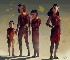 The Airbender Kids   The Last Descendants of a Heritage   Ikki, Jinora, Meelo & Rohan   Legend of Korra   Avatar