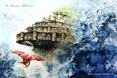 ジブリ愛が生んだ傑作!フランス人の水彩画に心が引き込まれて戻ってこれない | CuRAZY [クレイジー]