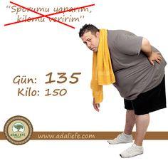 İnat etmeyin, azim iyidir ama yetmez ! Beslenme şeklinizi de değiştirmelisiniz ! www.adaliefe.com