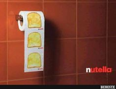 Lecker Nutella aufs Brot!? | Lustige Bilder, Sprüche, Witze, echt lustig