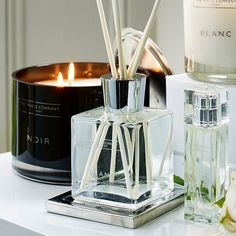 A fabulously crisp and spirited floral scent. Blanc is a beautiful blend with notes of pure white geranium and bright juniper berry - wonderfully fresh, carefree and modern. This stylish scent diffuser is a subtle way to softly scent a room all d Juniper Berry, The White Company, Pure White, Geraniums, Pure Products, Create, Floral, Modern, Diffusers