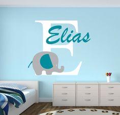 Enfants Garçons Filles Bébés Combo 123 ABC Nursery Chambre Enfant Mur Autocollants Papier