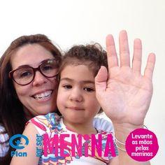 Sonia dos Santos e Lorena #porsermenina