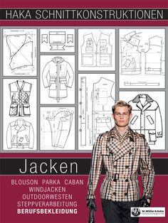 Menswear section constructions JACKETS