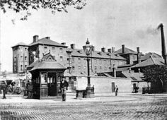 Union Workhouse, York Street, Nottingham, 1895.