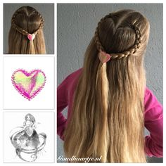 Braided heart with a cute hairclip from Goudhaartje.nl  Hairstyle inspired by: @kimberly0706 (instagram)  #braid #braids #dutchbraid #hair #hairstyle #hairinspiration #hairideas #longhair #beautifulhair #hairstylesforgirls #hairclip #hairaccessories #braidedheart #vlecht #vlechten #haar #haarstijl #haarclip #opvlecht #haaraccessoires #goudhaartje