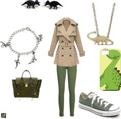 """Cute outfit!! """"Jurassic Park"""" by kayleenbabel on Polyvore"""