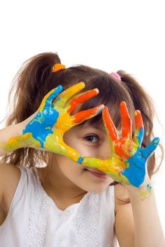 Sensory Integration: activities and ideas to use at home. Painting For Kids, Art For Kids, Washi, High Scope, Grande Section, Sensory Integration, Anxiety In Children, Young Children, Frames