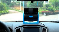 Car Auto Portable Mini No Leaf Air Conditioner Cooling Desktop Cooler bladeless 16062901