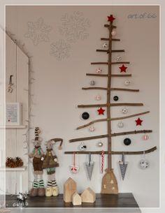 christmas tree wood - Weihnachtsbaum DIY