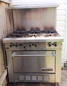 Great price Garland 6-burner stove with oven | business, industrial | City of Toronto | Kijiji Mobile