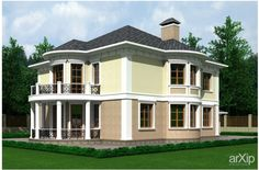 Decor  Fasade: архитектура, строительство, 2 эт | 6м, жилье, модернизм, 200…