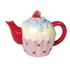 Visit Rex London, the online gift shop to discover original designs and gifts for everyone at irresistible prices. London Gift Shop, Teapot Cookies, Teapots Unique, Strawberry Cupcakes, Online Gift Shop, Teapots And Cups, Tea Accessories, Kitchen Accessories, Chocolate Pots