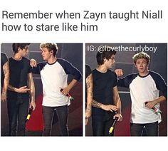 Niall's trying so hard hahahah