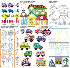 Free printable worksheets. TeachersMag.com Letter E Worksheets, Animal Worksheets, Free Printable Worksheets, Kindergarten Worksheets, Sorting Activities, Preschool Themes, Preschool Lessons, Learning Activities, Kindergarten Photos