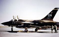 Spectre130 — fcba:   An F-105 Thunderchief of the 561st...