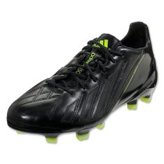 wholesale dealer a1528 9186e adidas F50 adizero TRX FG - miCoach compatible - Leather - Black Black  Electricity