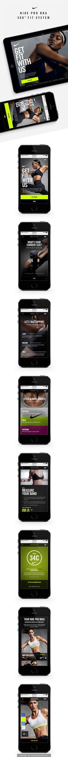 #nike #app #ui #ux #digital #mobile