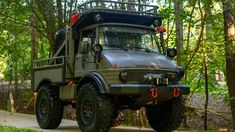 Bid for the chance to own a Modified 1987 Freightliner Unimog 419 at auction with Bring a Trailer, the home of the best vintage and classic cars online. Winch Solenoid, Roof Basket, Mercedes Benz Unimog, Michelin Tires, Bed Liner, Jerry Can, Green Bedding, Truck Bed
