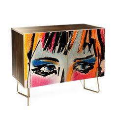 Ginette Fine Art Glances Credenza | DENY Designs Home Accessories
