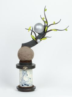 Vase, Sculpture, Chocolate, Home Decor, Decoration Home, Room Decor, Sculptures, Chocolates, Vases