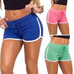New Summer Pants Women Sports Shorts Gym Workout Waistband Skinny Yoga Short NE Work Shorts, New Pant, Yoga For Flexibility, Yoga For Beginners, Short Girls, Gym Shorts Womens, Pants For Women, Skinny, Summer Pants