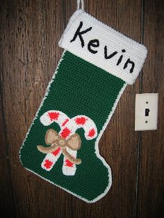 Homemade crafts by Kathleen: Christmas stockings Christmas Gifts To Make, Christmas Fun, Holiday Fun, Christmas Crochet Patterns, Holiday Crochet, Crochet Projects, Crochet Ideas, Advent, Homemade Crafts