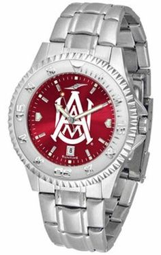 Alabama A Bulldogs NCAA Mens Steel Anochrome Watch SunTime. $86.95. Save 21% Off!