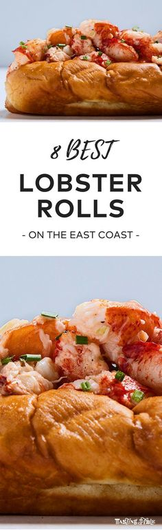nice Celebrate summer with an East Coast lobster roll tour. Lobster Roll Recipes, Best Lobster Roll, Fish Recipes, Seafood Recipes, Cooking Recipes, Lobster Rolls, Vegan Recipes, Fish Dishes, Seafood Dishes