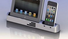 Dock your iPhone and iPad, with or without a case, with Billet Dock